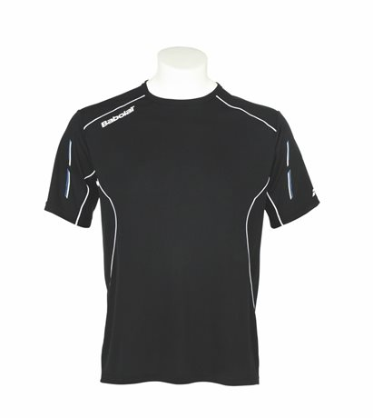 Babolat Tee-Shirt Boy Match Core Black