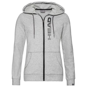 Produkt HEAD Club Greta Hoodie Full Zip Women Grey Melange/Black