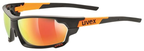UVEX SGL 702, BLACK MAT ORANGE
