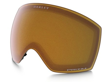 OAKLEY Flight Deck Replacement Lenses PRIZM Snow Persimmon