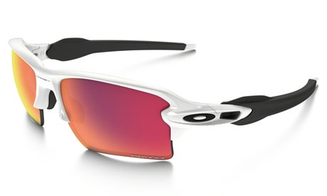 Oakley Flak Jacket 2.0 XL White With Prizm Baseball Lens