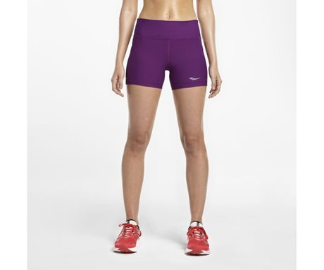 Saucony Bullet Tight Short Grape Crush
