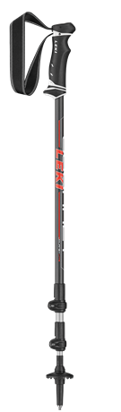 Leki Journey Lite red/white 100-135 cm 6492184 2019