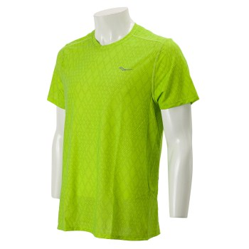 Saucony Freedom Short Sleeve Chartreuse