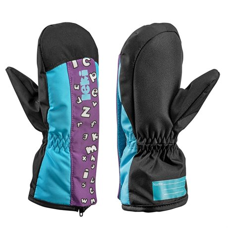 Leki Little Alpha Zap Mitt cyan-purple 63281951