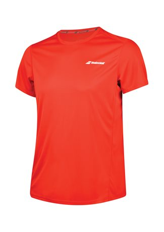 Babolat Flag Tee Boy Core Club Red