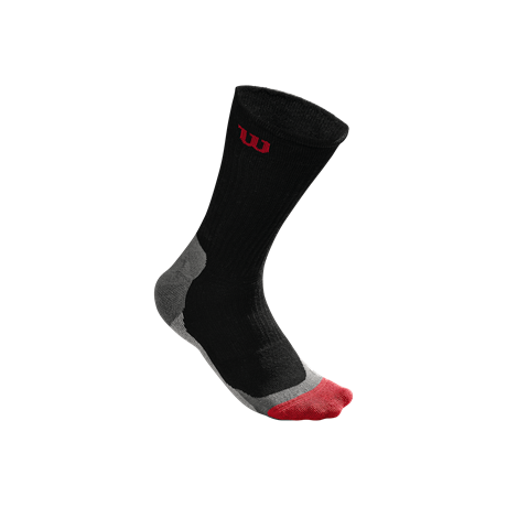 Wilson M High End Crew Sock Black