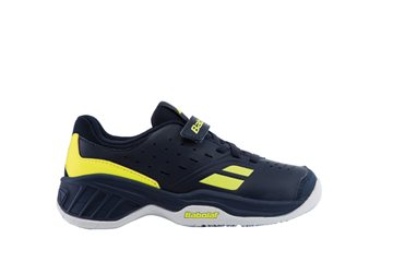 Produkt Babolat Pulsion All Court Kid Blue/Yellow