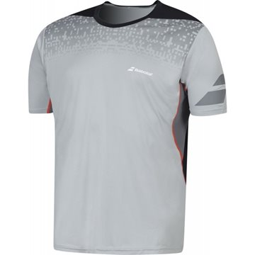 Produkt Babolat Crew Neck Tee Men Performance Grey 2016
