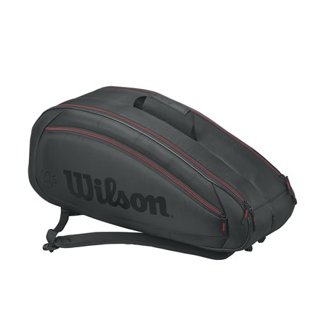 Wilson Federer Team 6 Pack Black 2017