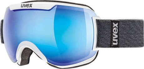 UVEX DOWNHILL 2000 white double lens/mirror blue 00051993