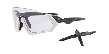 Produkt OAKLEY Flight Jacket Mtt Grey/Carbon w/PRIZM Low Light