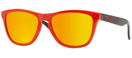 OAKLEY Frogskins RED/FIRE IRRIDIUM
