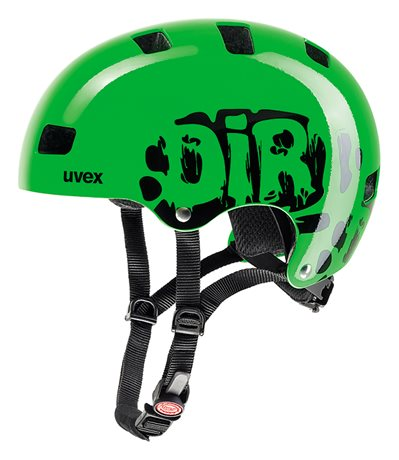 UVEX KID III, DIRTBIKE GREEN