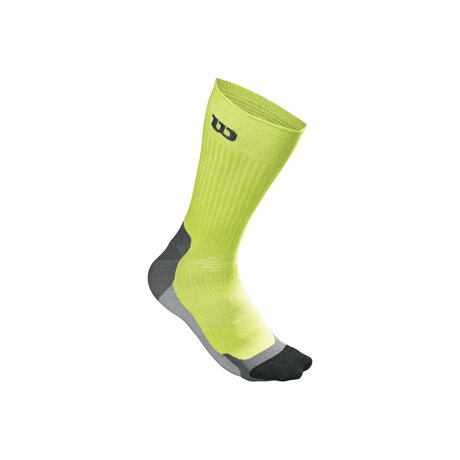Wilson Color High End Crew Sock Lime