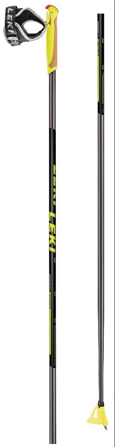 Leki PRC 700 black/white-neonyellow 6434072 18/19