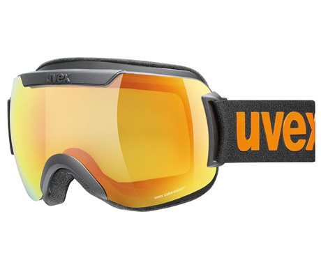UVEX DOWNHILL 2000 CV black mat/mir orange colorvision yellow S5501172530 20/21