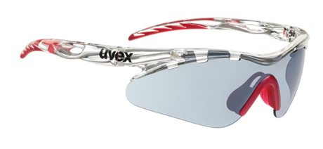 UVEX CROW PRO SMALL, CLEAR RED