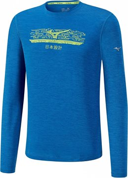 Produkt Mizuno Impulse Core Graphic LS Tee J2GA750928