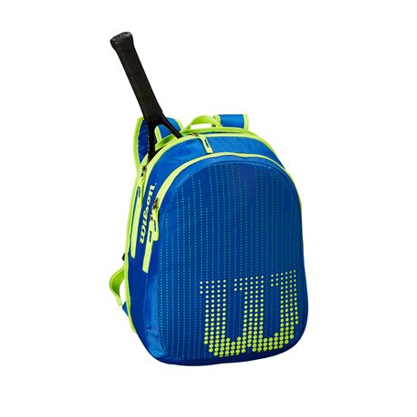 Wilson Junior Backpack Blue/Yellow 2019