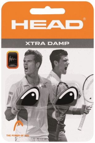 HEAD Xtra Damp Black/White