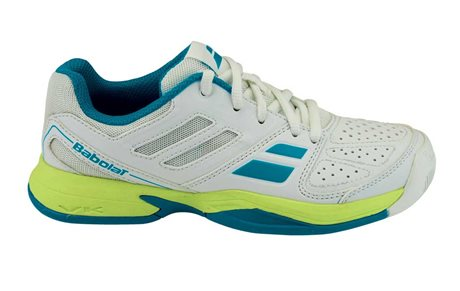 Babolat Pulsion All Court Kid White/Blue