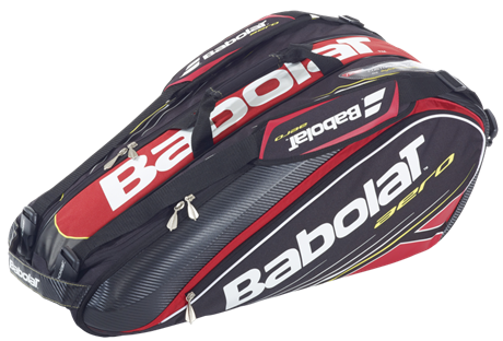 Babolat Aero Racket Holder X9 Red