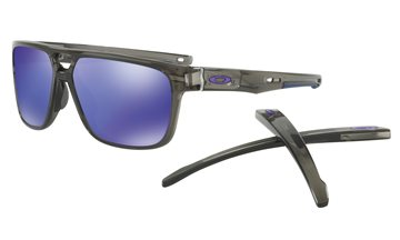 Produkt OAKLEY Crossrange Patch Grey Smoke w/ Violet Irid