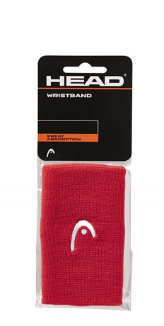 "HEAD Wristband 5"" red"