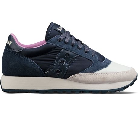 Saucony Jazz Original Cream/Navy
