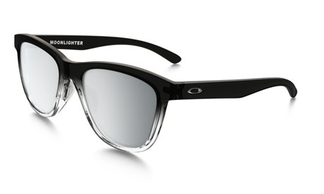 OAKLEY Moonlighter Grey Ink Fade w/ Chrome Irid Pol