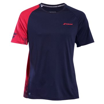 Produkt Babolat Performance Boy TEE Crew Neck Black/Salsa