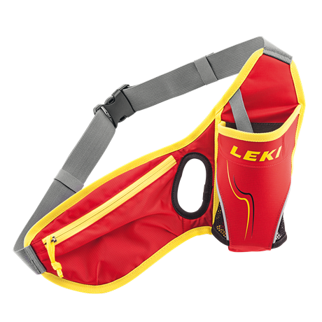 Leki Drinkbelt red-neonyellow