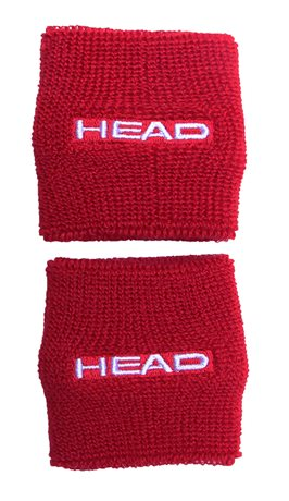 HEAD Wristband 2,5 Red