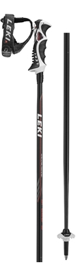 Leki Speed S Airfoil black/white-red-grey 64367951 18/19