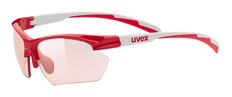 UVEX SPORTSTYLE 802 SMALL VARIO, RED/WHITE