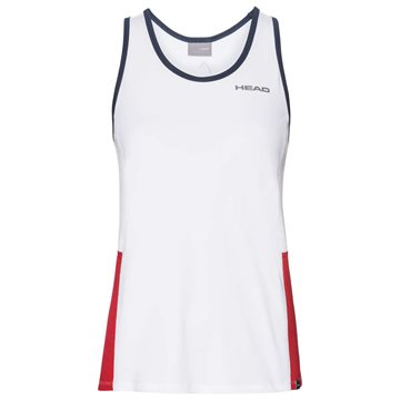 Produkt HEAD Club Tank Top Girl White/Red
