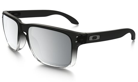 OAKLEY Holbrook Grey Ink Fade w/Chrome Iridium Polarized