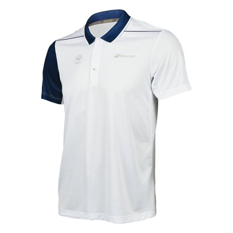 Babolat Performance Men Polo Wimbledon White