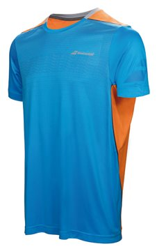 Produkt Babolat Crew Neck Tee Boy Performance Blue