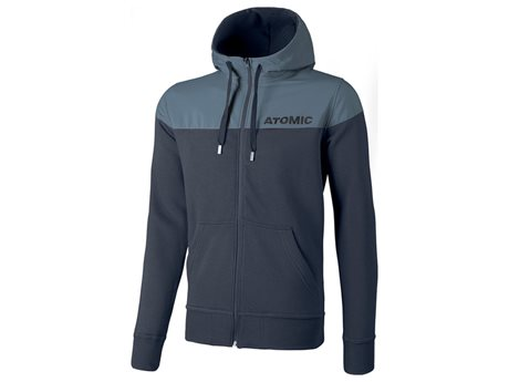 Atomic Alps FZ Hoodie Grey Blue