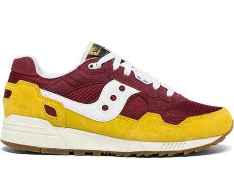 Saucony Shadow 5000 Vintage Yellow/Maroon/White