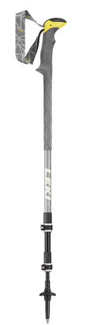Leki Sherpa XTG grey/yellow/white 110 - 145 cm 6492028 2021