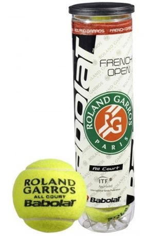 Babolat Ball French Open All Court X4 2015