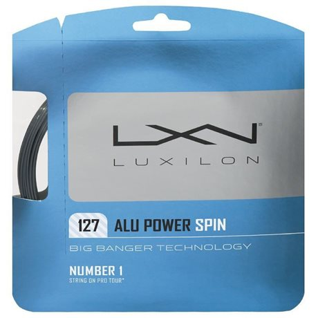 Luxilon Alu Power Spin 127 String Silver
