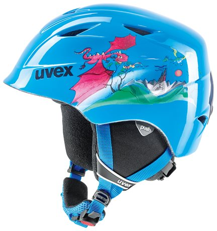 UVEX AIRWING 2 blue dragon S566132460 17/18