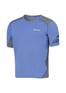 Produkt Babolat V-Neck Tee Men Performance Blue 2016