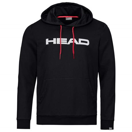 HEAD Club Byron Hoodie Men Black/White