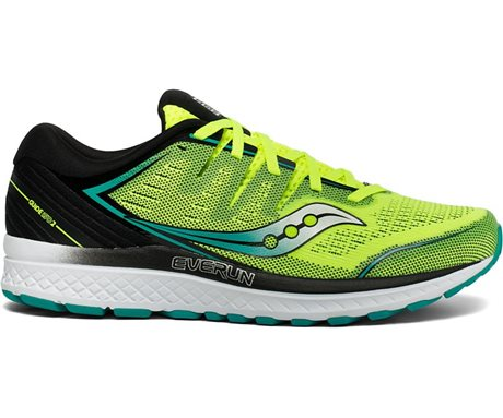 Saucony GUIDE ISO 2 Citron/Black