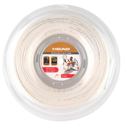 HEAD Synthetic Gut PPS 200m 1,24 White